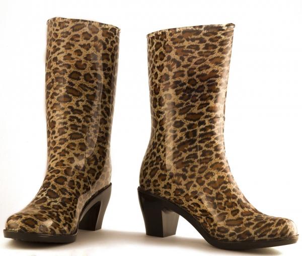 Резиновые сапоги - модный стиль