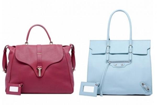 какие сумки в моде весной 2012.