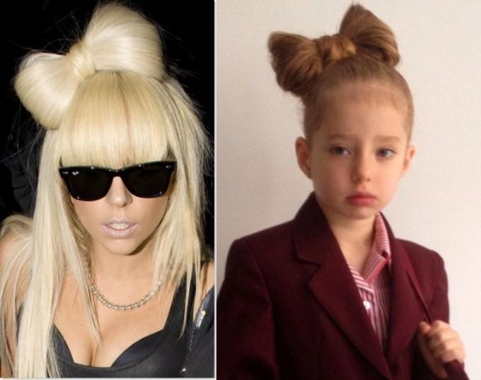 Модные причёски знаменитостей не