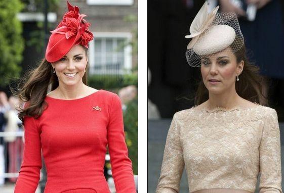 ...не только на консервативный стиль в одежде, но и на головные уборы.