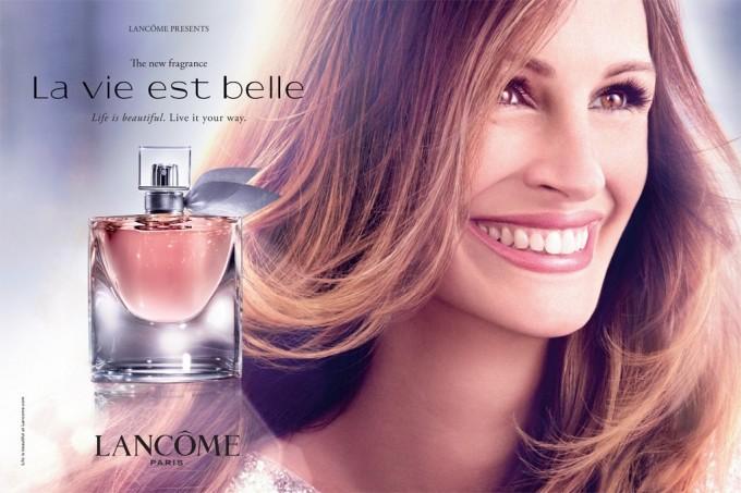реклама духов la vie est belle