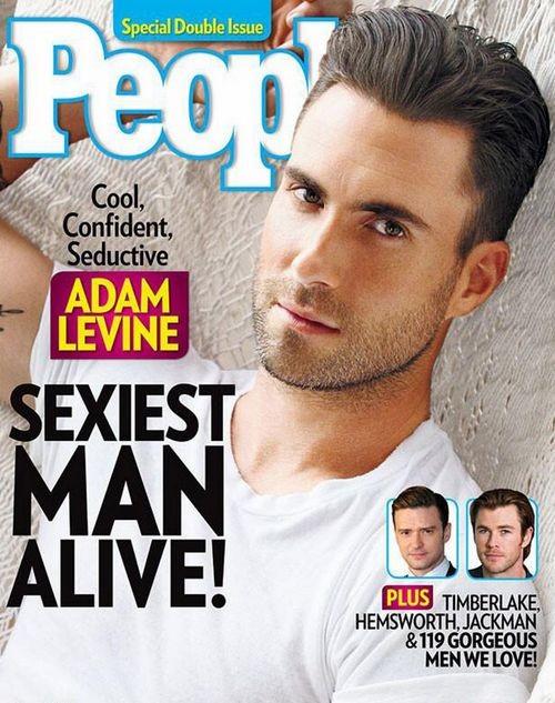 Адам Левин назван самым сексуальным мужчиной 2013