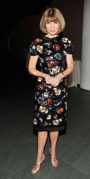 Анна Винтур и Диана Крюгер в платье Chanel