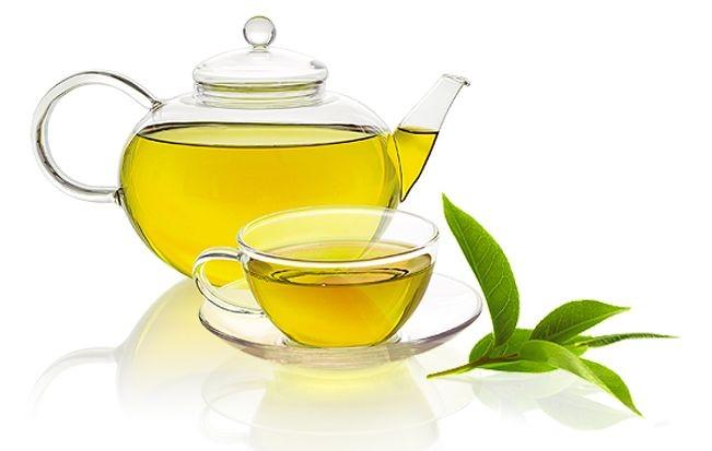 Зеленый чай и зеленый кофе