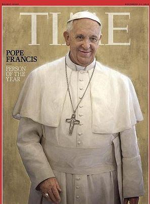 Папа Римский стал Человеком года журнала Time