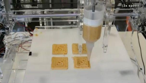 3 D-принтер отправится покорять кухню