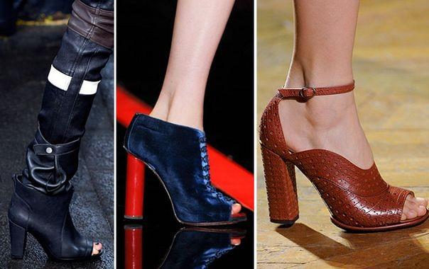 Модная обувь зимы 2014