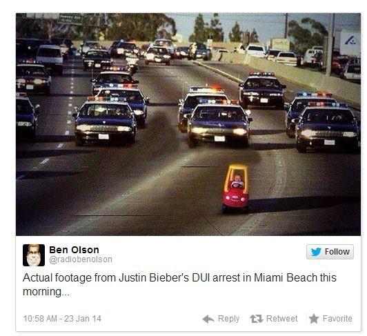 Джастина Бибера выпустят под залог