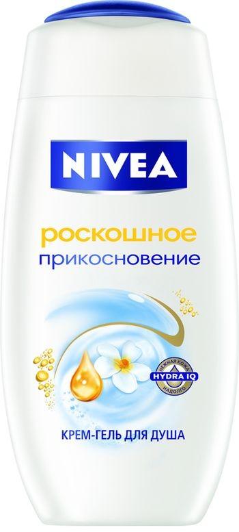 Новый крем-гель для душа Роскошное прикосновение от NIVEA - Роскошь в каждом прикосновении
