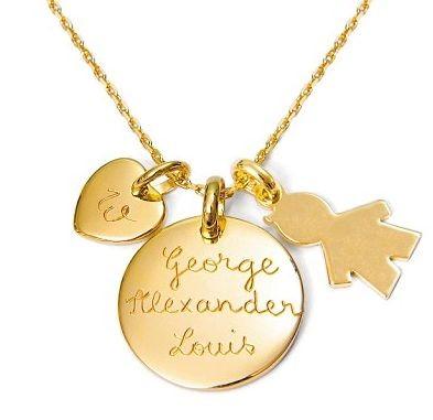 Пиппа Миддлтон подарила сестре украшение с именами мужа и сына