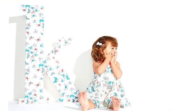 Ким Кардашян выпускает одежду для детей