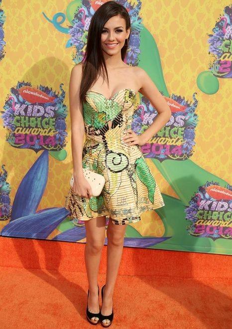 Лучшие наряды Kids' Choice Awards 2014