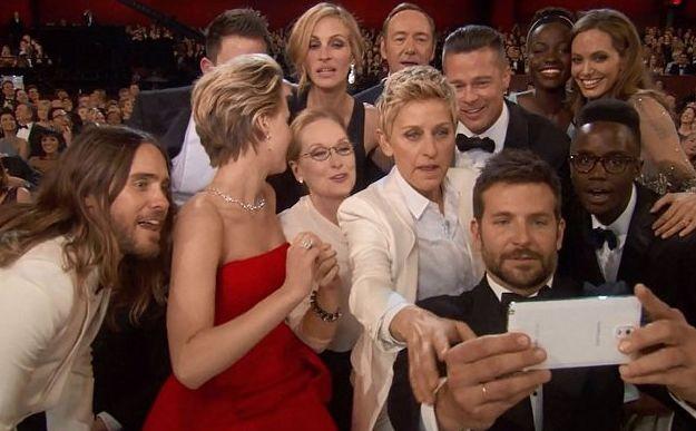 Фотография с Оскара 2014 стала рекордной в Твиттере