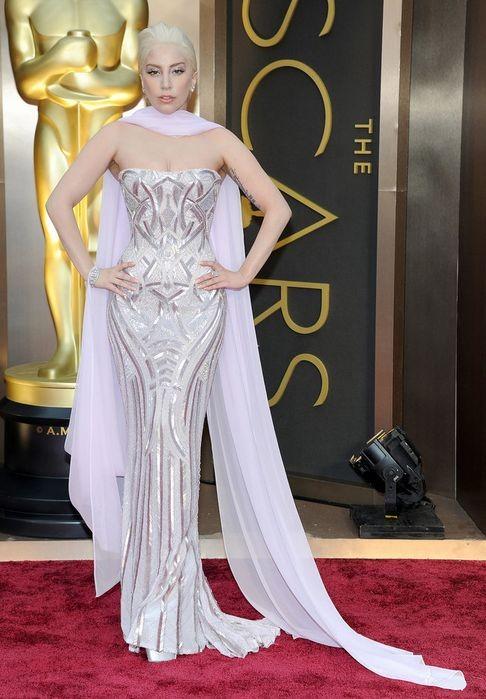 Лучшие наряды Оскара 2014