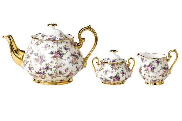 Правила выбора фарфорового чайного сервиза