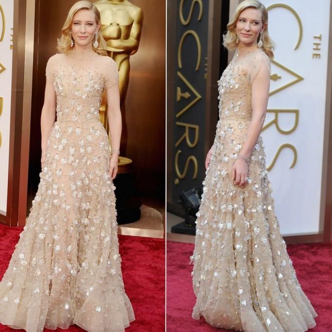 Худшие наряды Оскара 2014