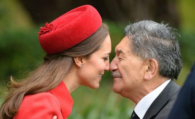 Кейт Миддлтон и принц Уильям прибыли в Новую Зеландию