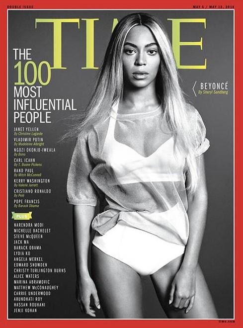 Бейонсе стала Человеком года журнала Time