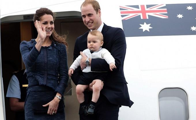 Принц Уильям и Кейт Миддлтон покинули Новую Зеландию