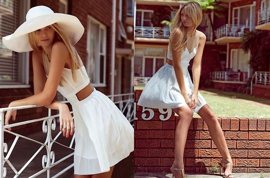 Как носить белую одежду