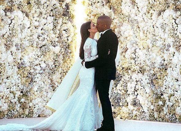 Свадебные фотографии Ким Кардашян побили рекорд Джастина Бибера в Instagram