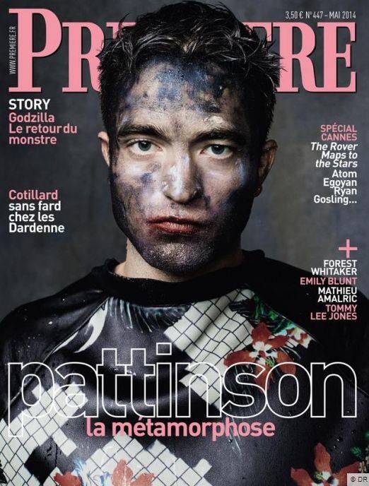 Роберт Паттинсон на обложке журнала Premiere