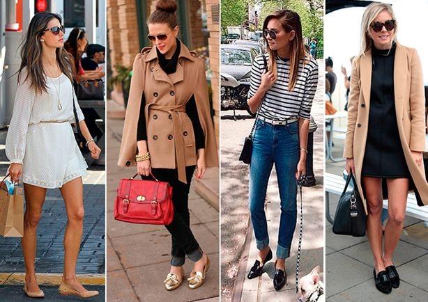 Обувь без каблука: подбираем гардероб