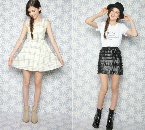Модные школьницы, которым хочется подражать