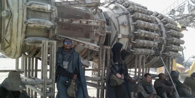 Первые фото со съёмок новых Звёздных войн