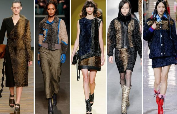 Модные тренды осени 2014