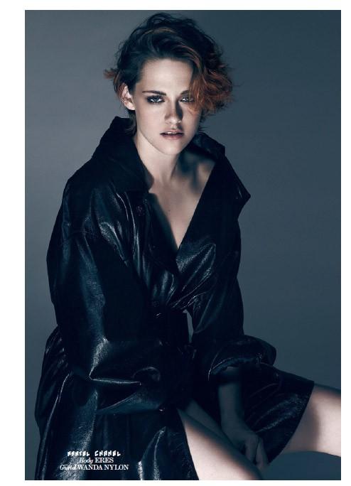 Кристен Стюарт на обложке журнала Interview