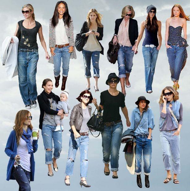 Джинсы бойфренды – как носить и с чем надеть