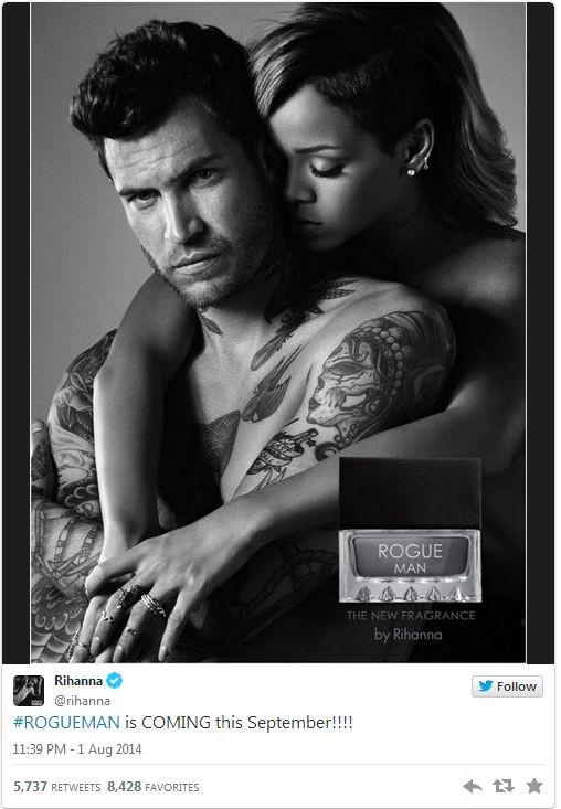 Рианна выпускает парфюм для мужчин