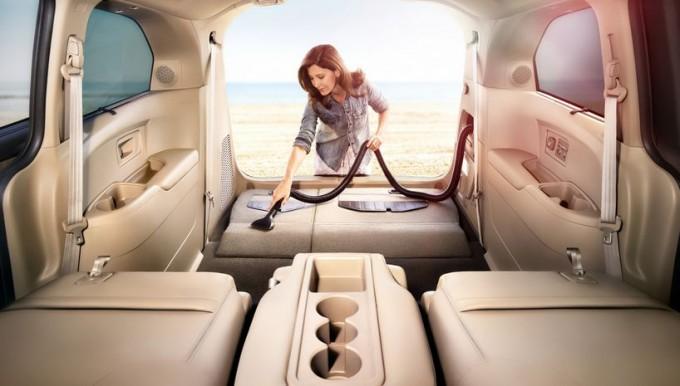 Портативные автомобильные пылесосы