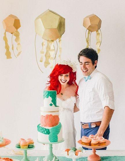 Как Русалочка вышла бы замуж