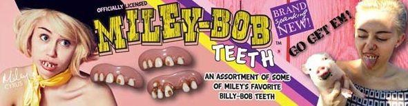 Майли Сайрус запустила линию вставных зубов