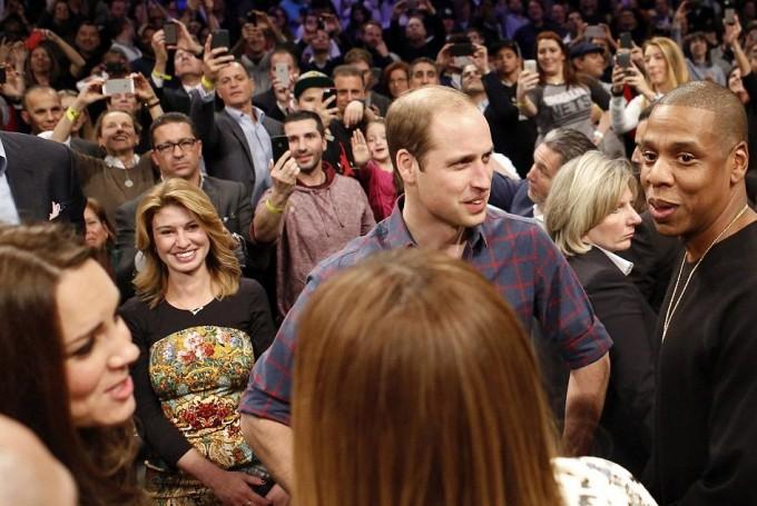 Кейт Миддлтон и принц Уильям встретились с Бейонсе и Jay-Z