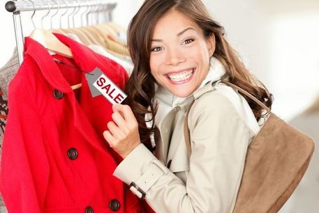 Как покупать вещи во время распродажи?