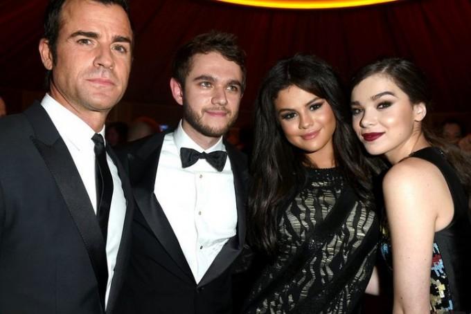 Селена Гомес пришла на вечеринку после Оскара с DJ Zedd