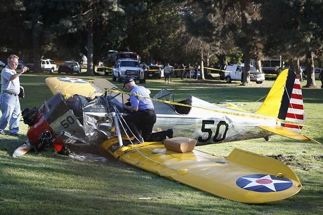 Харрисон Форд чуть не погиб в авиакатастрофе