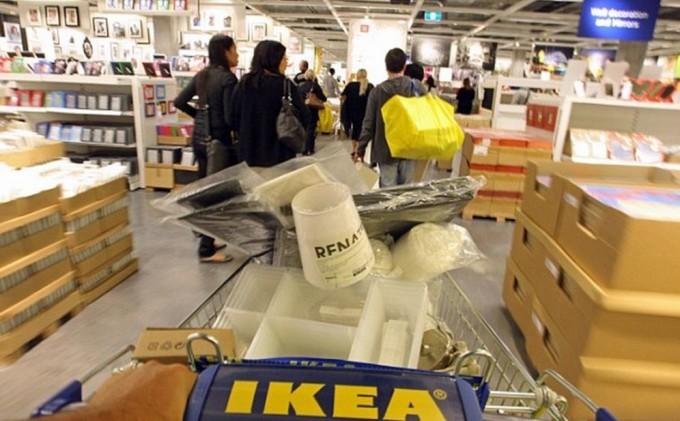 В магазинах IKEA запрещают играть в прятки