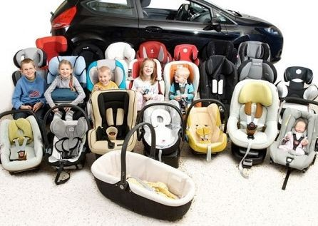 Выбираем автокресло для малыша