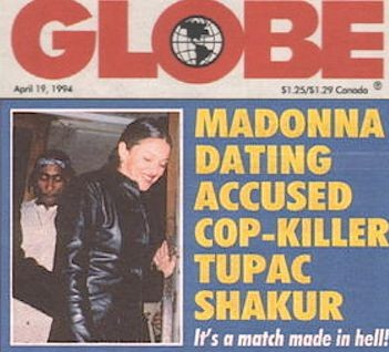 Мадонна подтвердила роман с Тупаком