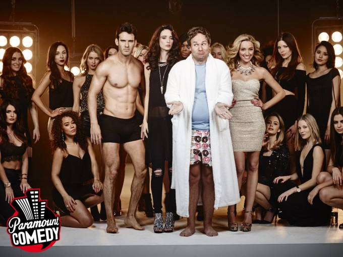 Джастин Бибер и сериал Живу с моделями на Paramount Comedy