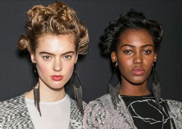 Модные причёски осенних показов