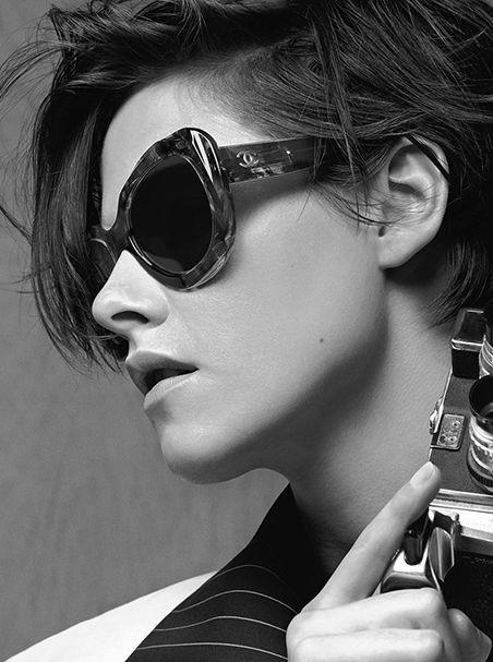 Кристен Стюарт в новой рекламной кампании Шанель
