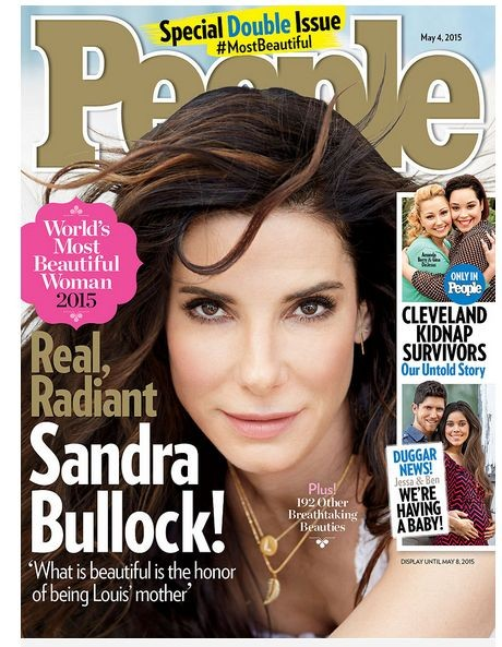 Сандра Буллок - амая красивая женщина 2015 года журнала People