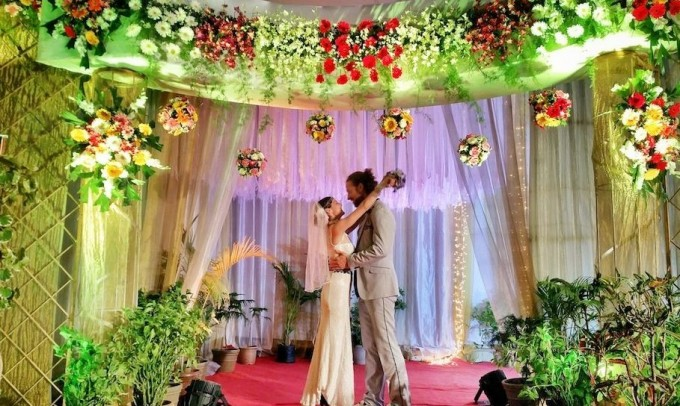 Ароматная свадьба