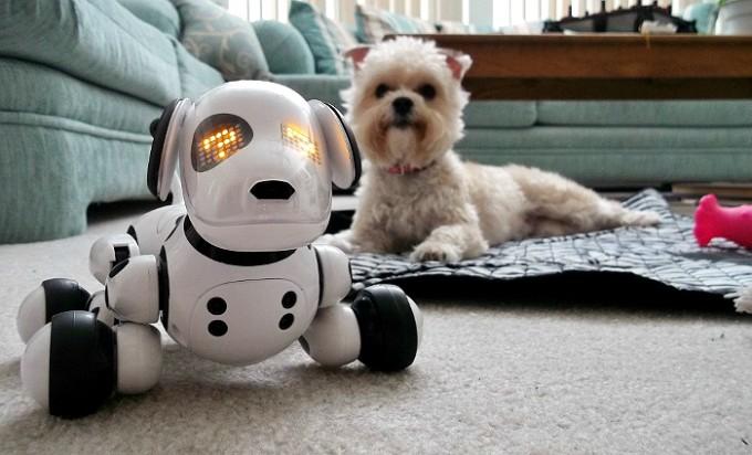Чудо-собачка - робот Zoomer