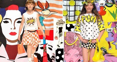 Детская мода 2015